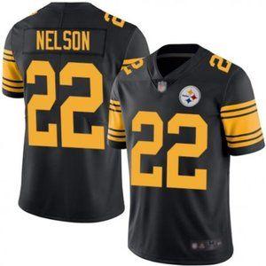 Steelers Steven Nelson Rush Jersey